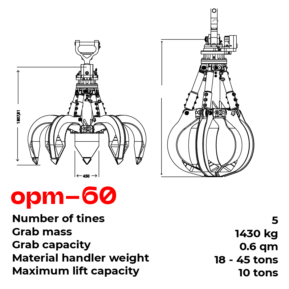 opm grab type 60