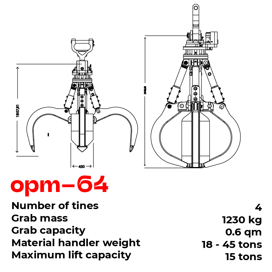 opm grab type 64