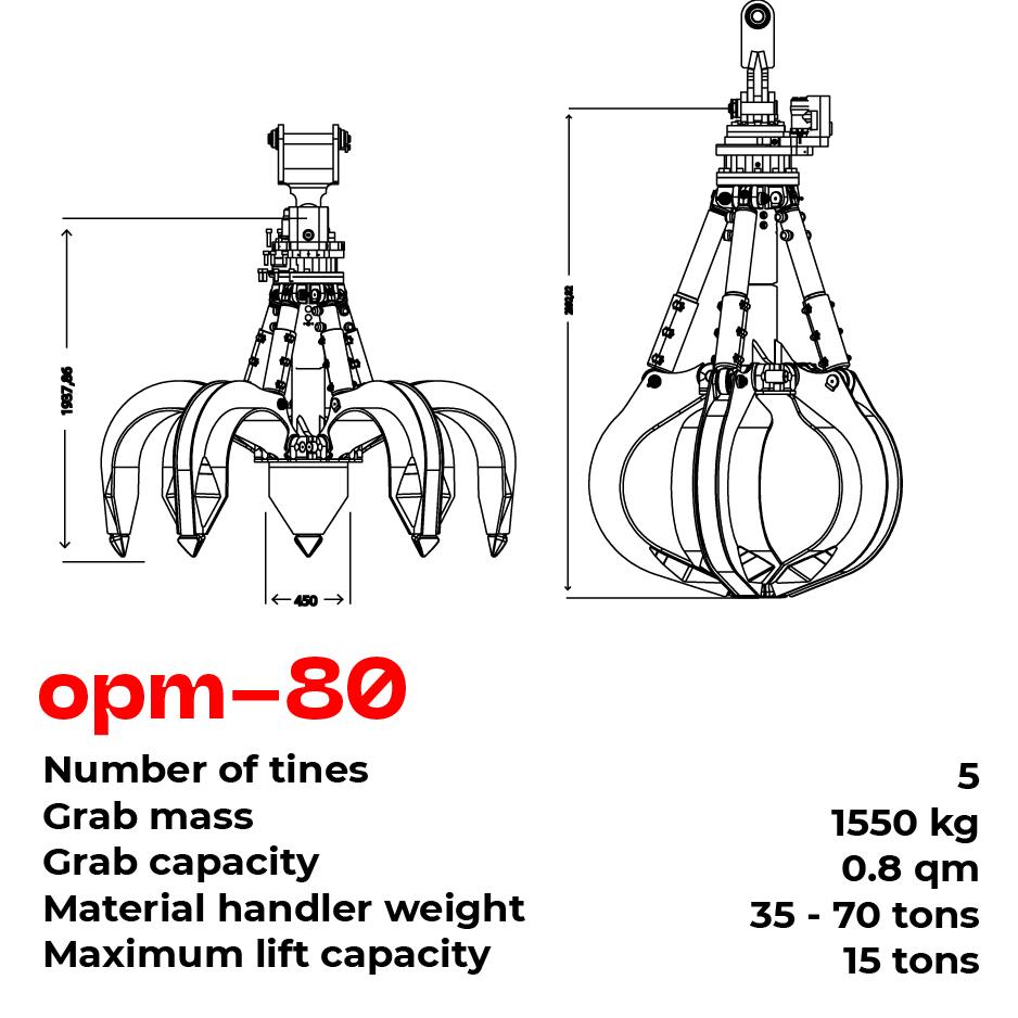 opm grab type 80