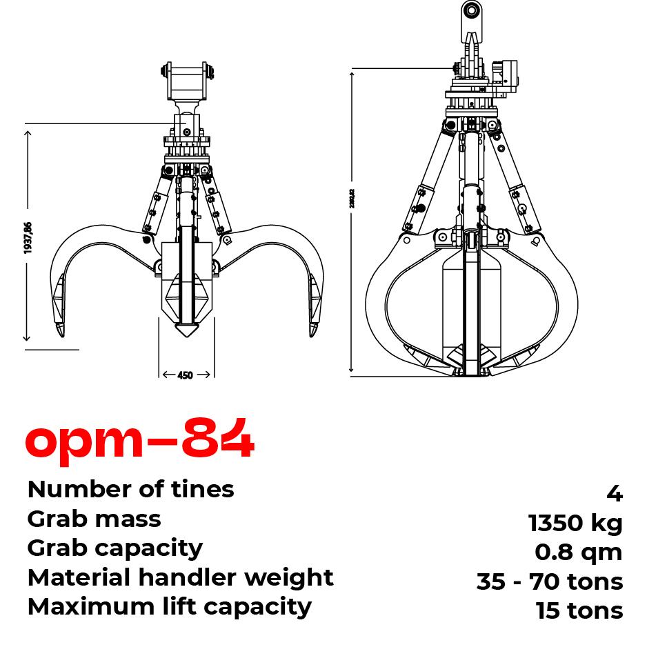 opm grab type 84