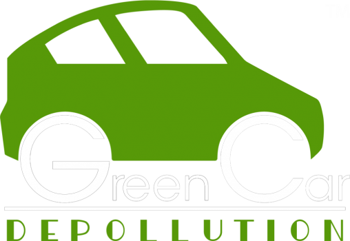 green car depo white